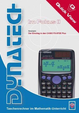 Im Fokus II: Casio FX-87 DE Plus - QuickView