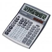 Citizen CCC-112 anzeigender Tischrechner, 12st. angew. LCD-Display, S/B, Bus.+TAX, Währungsfkt