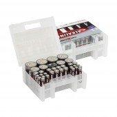 Ansmann Batterie Set - ALKALINE - 35 Stück 14xLR03 - 12xLR06 - 4xLR14 - 4xLR20 - 1x9V Block