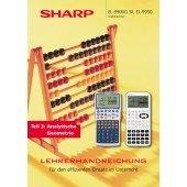 Sharp EL-9950G Lehrerhandbuch für den effizienten Einsatz des EL-9950G im Unterricht (58 S.)