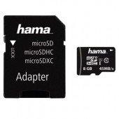 Hama microSDHC 8GB Class 10 UHS-I