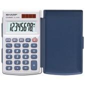 Sharp EL-243 S - Taschenrechner - 8-stelliges LCD - Solar/Batterie - 360° Klappdeckel - Prozent