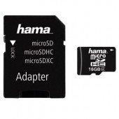 Hama microSDHC 16GB Class 4