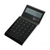 M-abacus 10389 Black anzeig. Design-Tischrechner Hochglanz, 10-st. Punktmatrix-Display, %, OFF