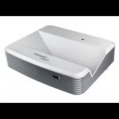 Optoma W320USTi 4000ANSI Lumen DLP WXGA (1280x800) 3D Desktop-Projektor Grau