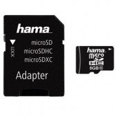 Hama microSDHC 8GB Class 10