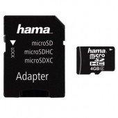 Hama microSDHC 4GB Class 4