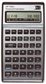 HP-17 B II Plus - Finanzrechner