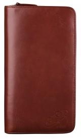 CalcCase - Schutztasche - Exklusiv - mit Geschenkbox - braunes Rindsleder