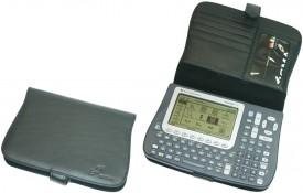 CalcCase - Schutztasche - für TI-Voyage 200 - Nappaleder - schwarz
