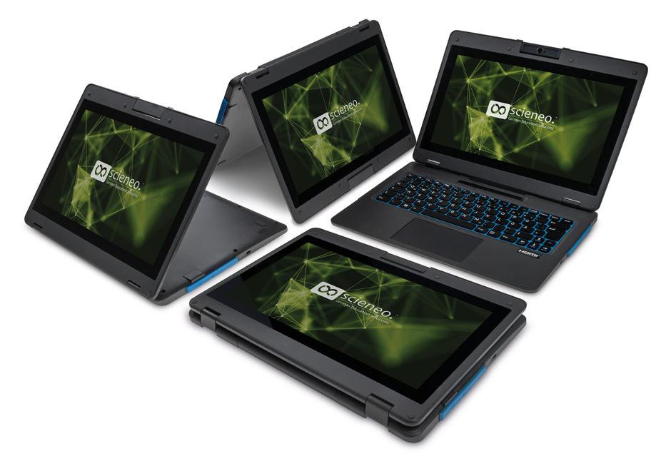 Notebook - Zelt-Modus - Stand-Modus - Tablet