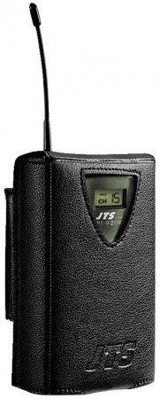 JTS PT-920B/5 UHF-PLL-Taschensender mit Lavaliermikrofon