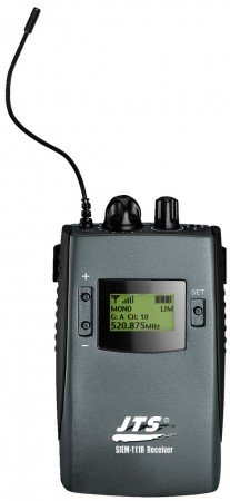JTS SIEM-111/R5 UHF-PLL-In-Ear-Monitoring-Receiver