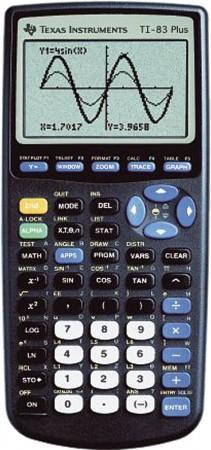 TI-83 Plus Grafikrechner - GEBRAUCHT -