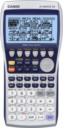 Casio FX-9860 G II SD - Grafikrechner