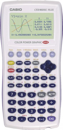 Casio CFX-9850 GC Plus - gebraucht -