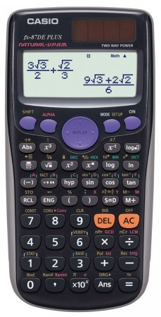 Casio FX-87 DE Plus - Schulrechner Refresh
