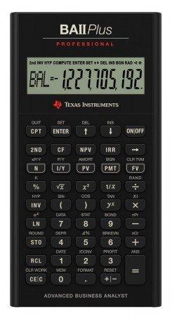 TI-BA II Plus Professional - Finanzrechner
