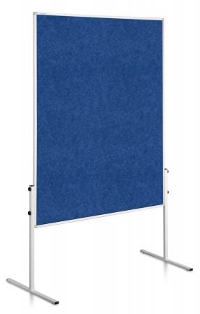 Legamaster ECONOMY Moderationstafel blau 150 x 120 cm