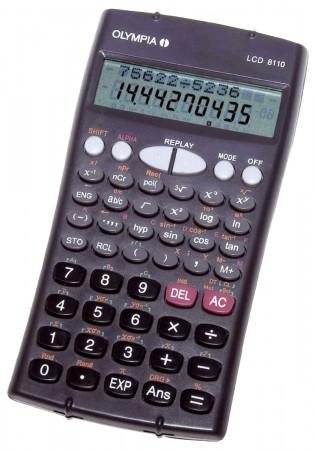 Olympia LCD 8110 - Taschenrechner