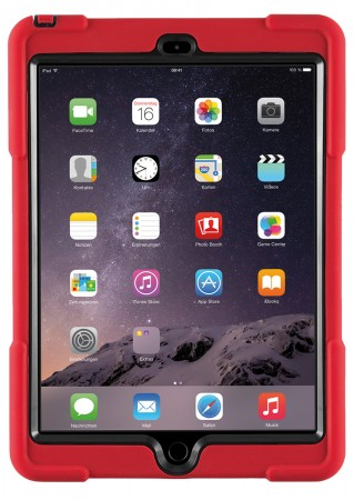 SHOCKGUARD Case iPad 2017/2018 rot