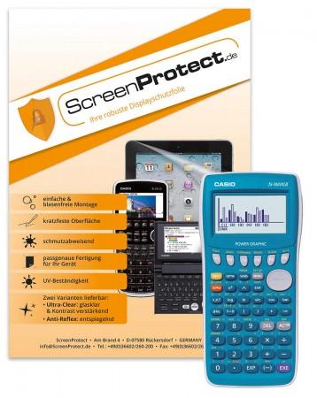 ScreenProtect Displayschutzfolie AntiReflex für Casio FX-7400 G II