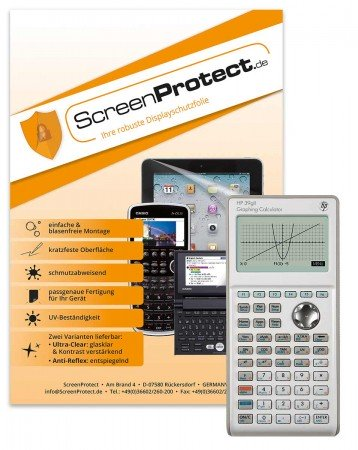 ScreenProtect Displayschutzfolie AntiReflex für Hewlett Packard 39 G II
