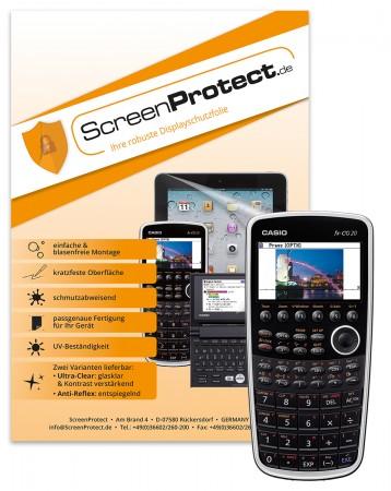 ScreenProtect Displayschutzfolie AntiReflex für Casio FX-CG20