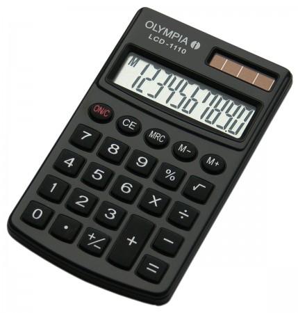 Olympia LCD-1110 - Taschenrechner - schwarz