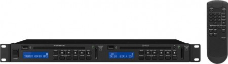 MONACOR CD-122 Dual-CD- und MP3-Spieler