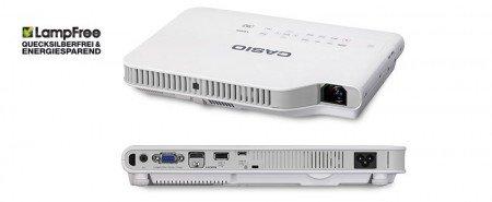 Casio XJ-A147 - DLP Technologie - XGA Auflösung 2500 ANSI-Lumen - 20.000 Std Lampe - WLAN & USB