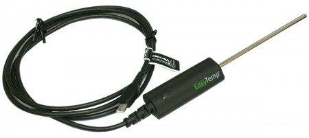 Easy!Temp von Vernier/Temperatursensor mit Mini-USB zum Direktanschluss an TI-Grafikrechner