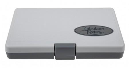 Dynatech Aufbewahrungsbox, grau, mit Klappdeckel