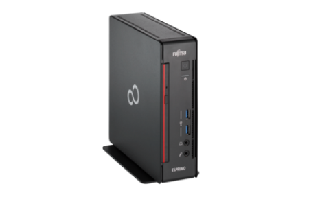 Fujitsu ESPRIMO Q558 - Mini-PC - 1 x Core i5 9400T / 1.8 GHz