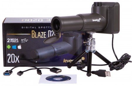 Levenhuk Blaze D200 Digital Spotting Scope