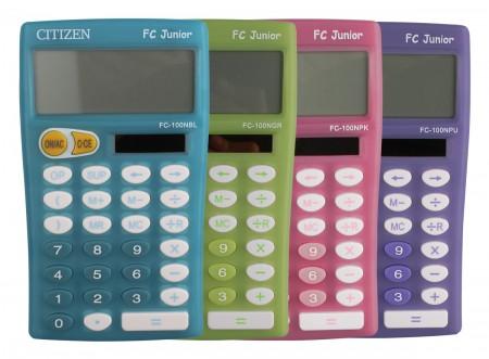 Citizen FC 100N Junior - Schulrechner - 4 Farben