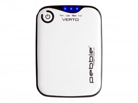Veho Pebble Verto - portable Powerbank - 3700 mAh - 1000 mA (USB) weiß
