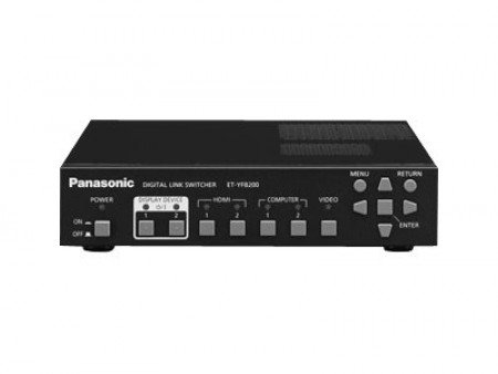Panasonic ET-YFB200G - Video-/Audio-/Netzwerk-Switch
