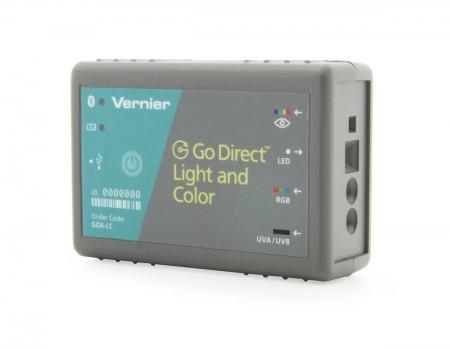 Vernier Go Direct┘ Licht- und Farbsensor GDX-LC