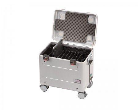 """PARAT Case C10 für 10 Geräte bis 15,6"""" EU-Version; silber"""