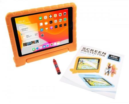 "KidsCover für iPad 10,2"" (2019 & 2020); orange inkl.Pen und ScreenCover"
