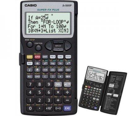 Casio FX-5800 P - programmierbarer Rechner