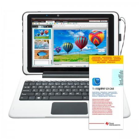 """scieneo.ardeo II 10,1"""" 2in1 - robustes Schüler-Tablet mit Windows 10 und TI Nspire CX CAS Software"""