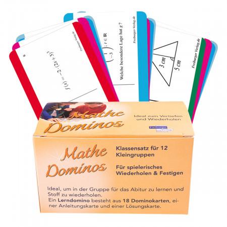DynaTech Dominos für Casio FX-87 DE X 240x Lernspielkarten / hochmotvierend / für 12 Gruppen