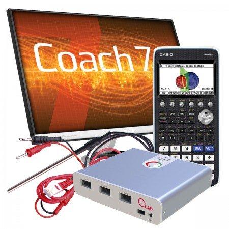 AKTIONSPAKET - Casio FX-CG50, CMA CLAB, Temperatur- u. Spannungssensor, Software Coach 7 Vollversion 60 Tage