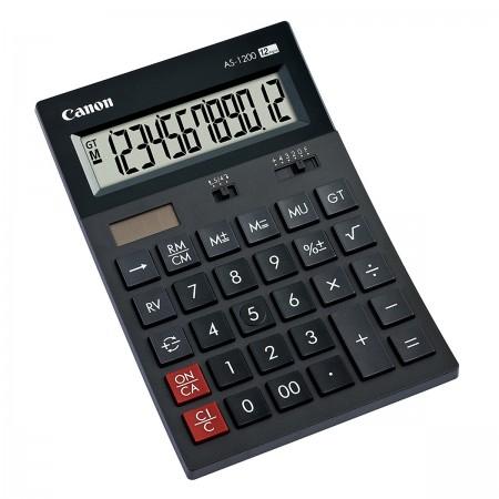 Canon AS-1200 - anzeigender Tischrechner