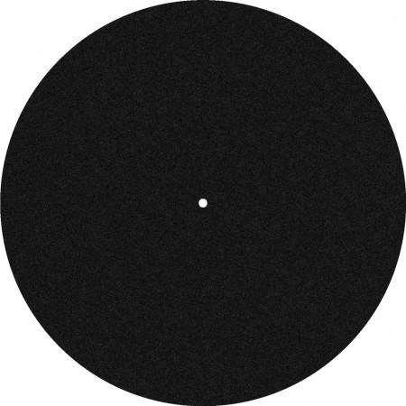 MONACOR DJP-2M Filzauflage (Slipmat)