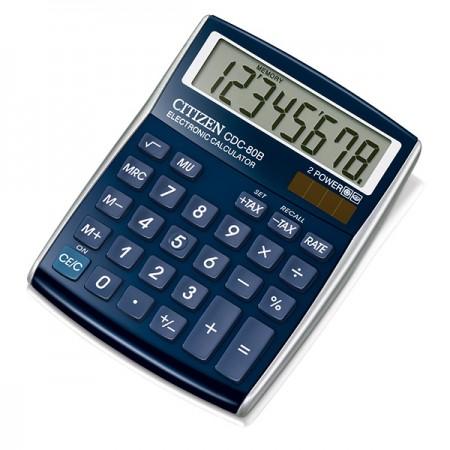Citizen CDC 80 BL WB - Taschenrechner - blau
