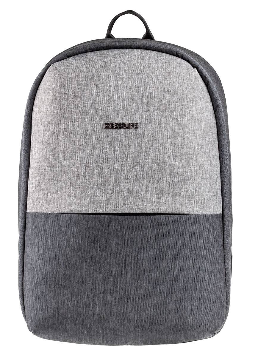 Grau Laptop 15 Travelsafe Murada Für Zoll Bestlife Usb Rucksack Bis 6 kTZwOPXiu