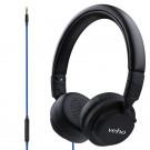 Veho Z-4 - Kopfhörer mit Mikrofon - On-Ear - kabelgebunden - faltbar - leicht